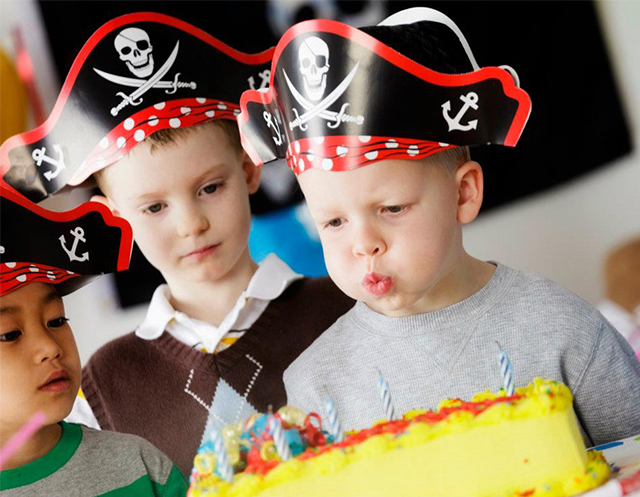 Birthday Parties at Treasure Island