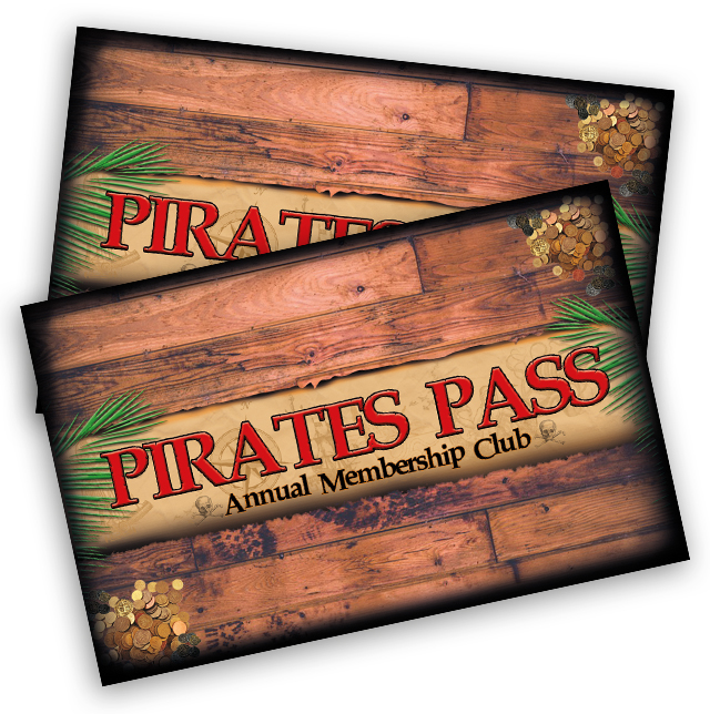 Pirate Pass & Long John Silver Memberships