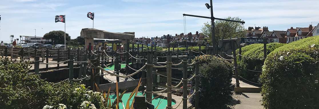 Treasure Island's 18 hole Pirate's Adventure Golf Course