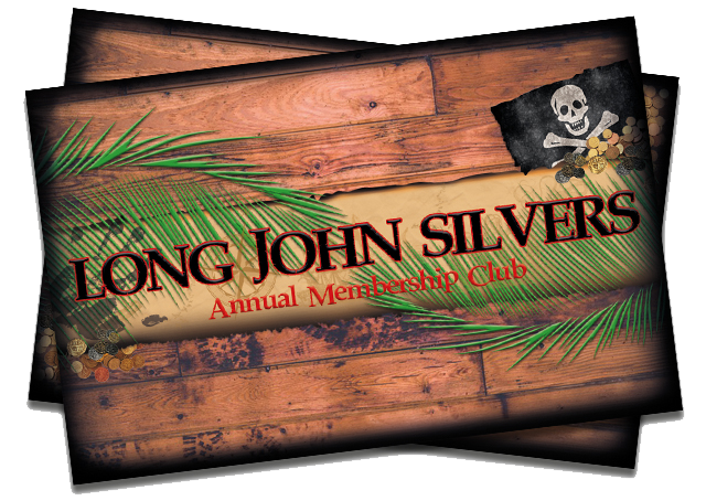 Long John Silver Annual Membership